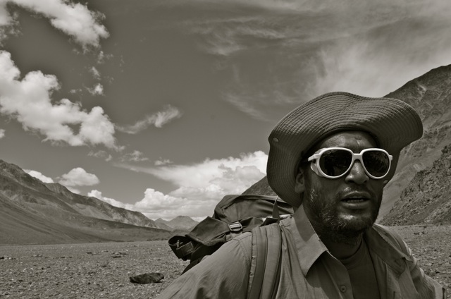 The force of nature that is Suresh within the natural power of the Chandra River Valley
