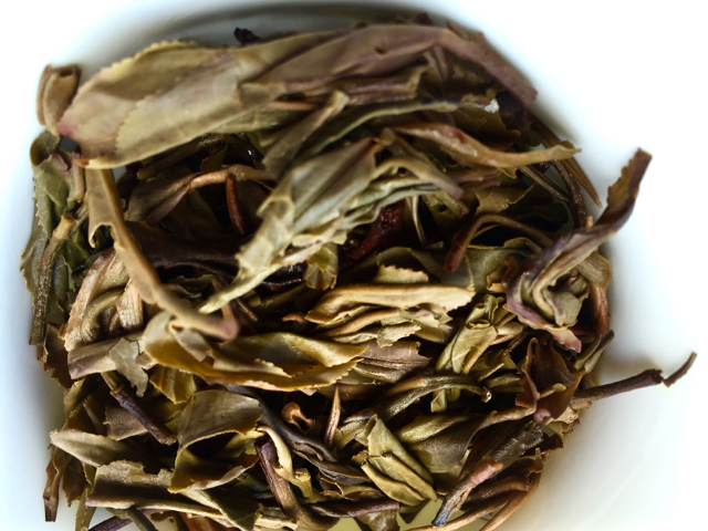 After the first infusion - Puerh